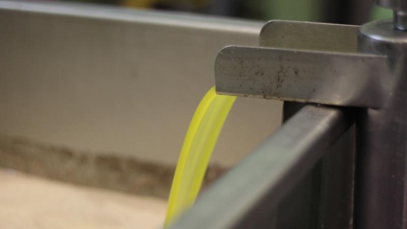 Aceite de oliva en la almazara