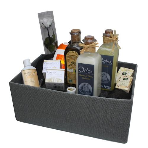 Aceite de oliva y cosmética