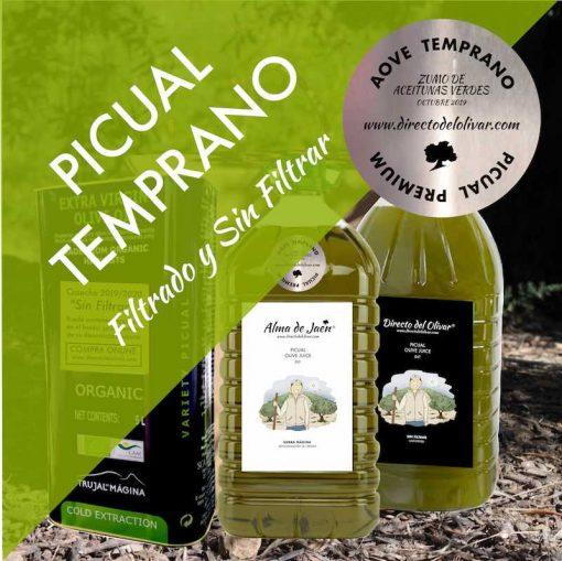 Comprar Aceite de Oliva Cosecha Temprana