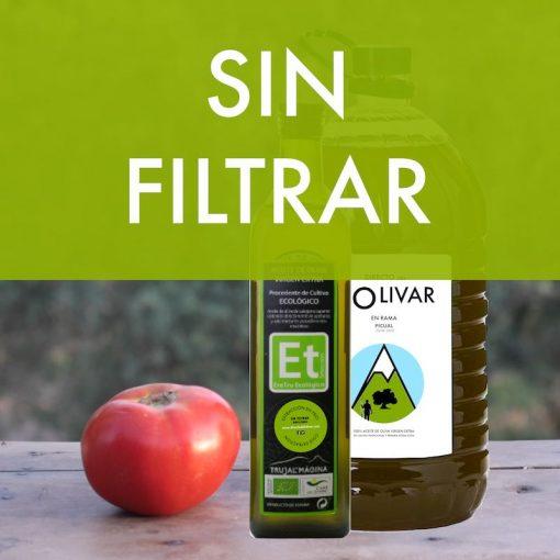 Comprar AOVE sin filtrar