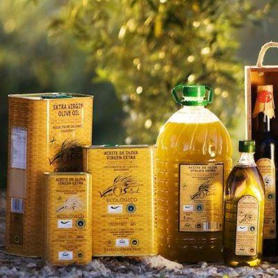 Aceite de oliva ecologico de Jaen