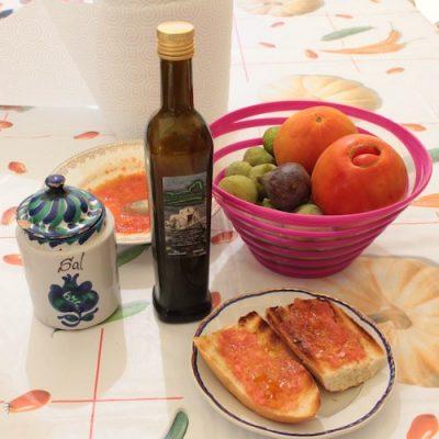 Aceite de oliva en rama para tostadas