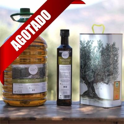 Aceite de oliva tradicional agotado