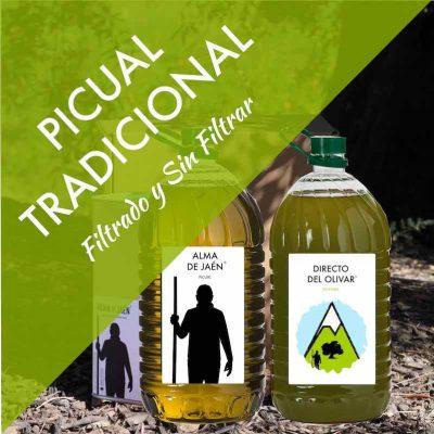 Aceite de Oliva Virgen Extra PICUAL TRADICIONAL