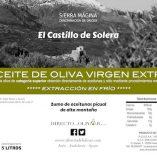 Aceite de oliva 5 litros etiqueta