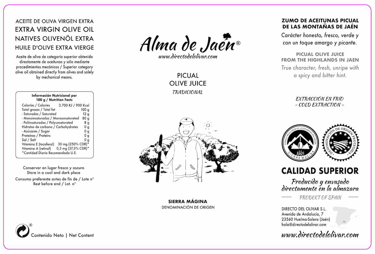 Aceite Virgen Extra Tradicional (etiqueta)