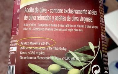 Qué es el aceite de oliva refinado