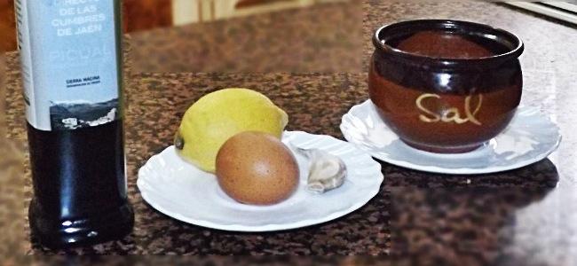 Ingredientes alioli casero
