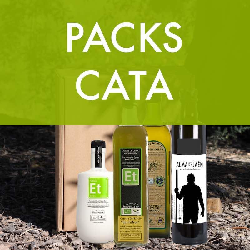 Packs para probar y regalar aceite