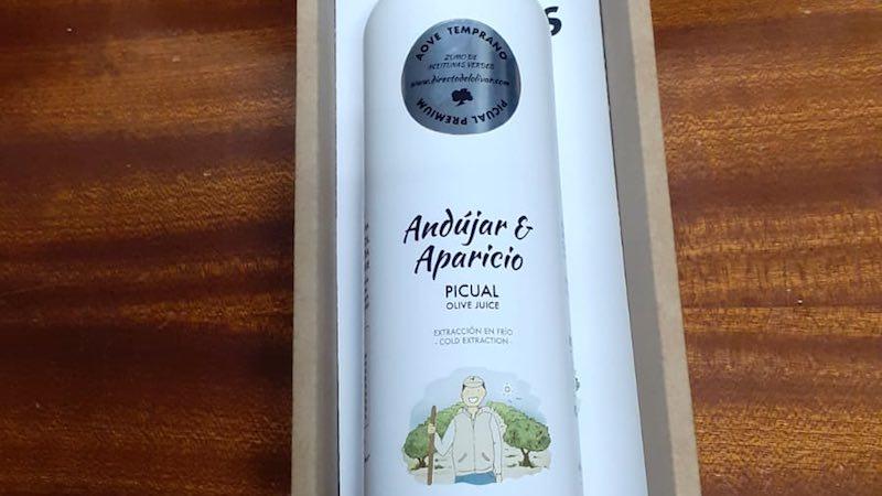 AOVE personalizado botella premium