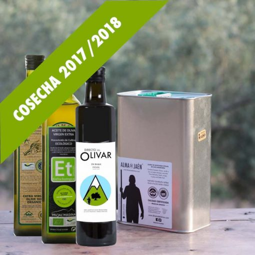 Aceite de oliva para probar y regalar