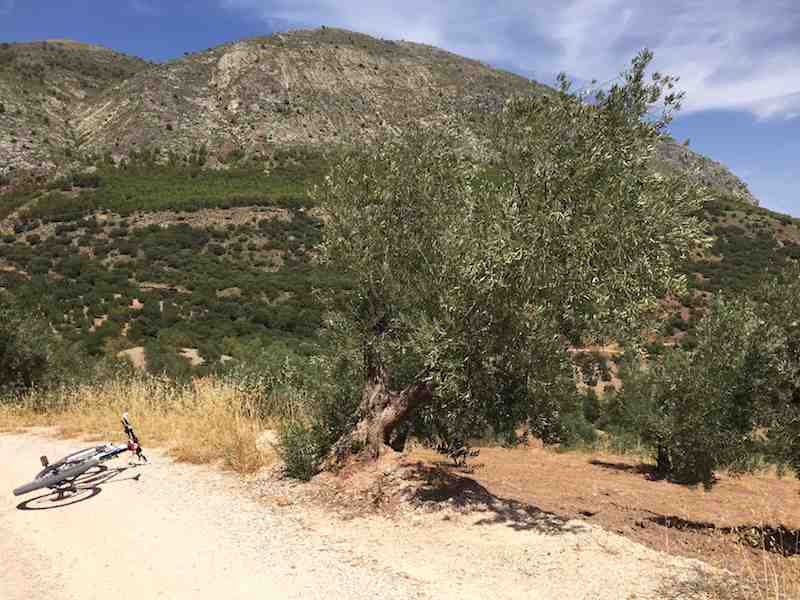 Sierra Magina en bicicleta