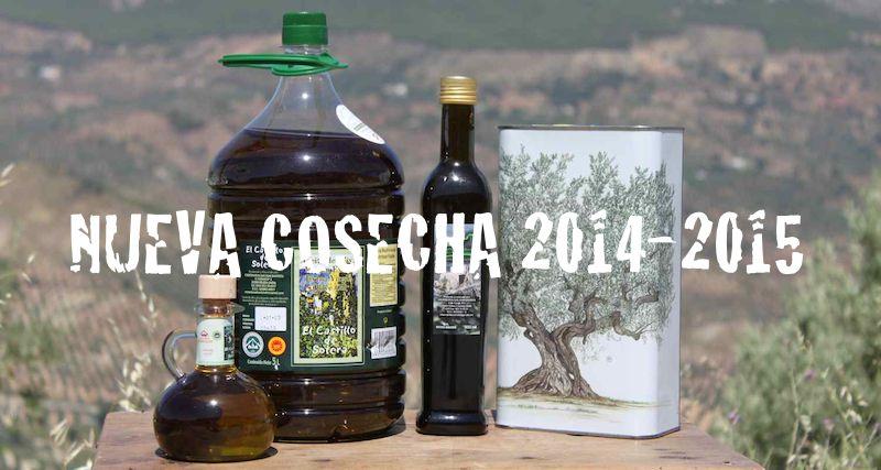 Aceite de oliva virgen extra cosecha 2014-2015