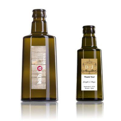 Botellas de aceite personalizadas