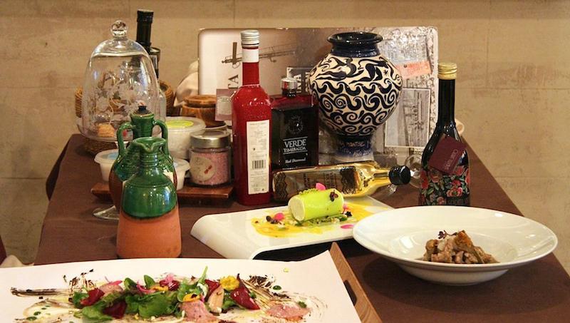 El aceite de oliva en los restaurantes