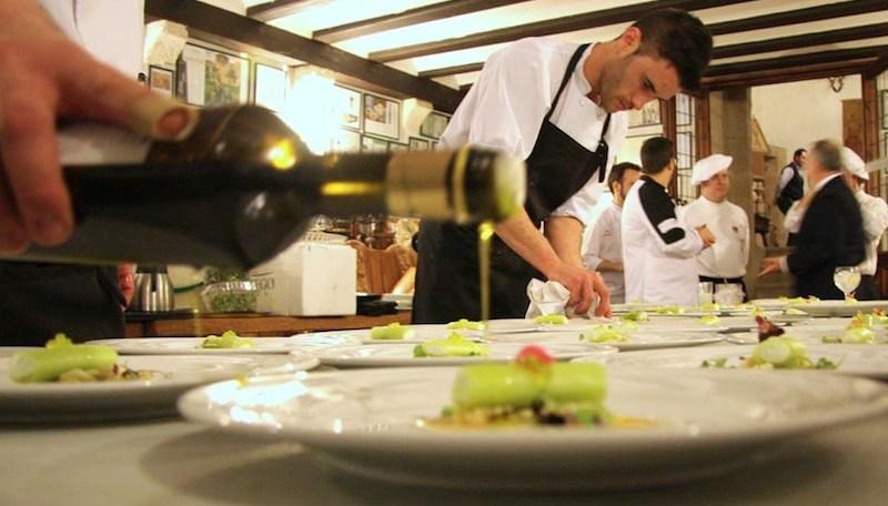 Aceite de oliva restaurante la estacion