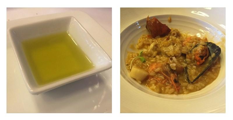 Aceite de oliva restaurante molina de aragon