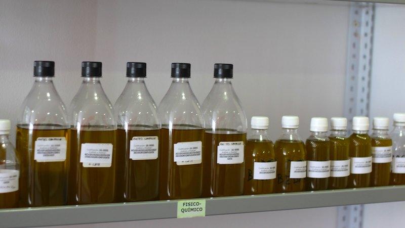 Analitica acidez del aceite de oliva