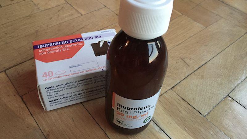 Ibuprofeno oleoconthal aove