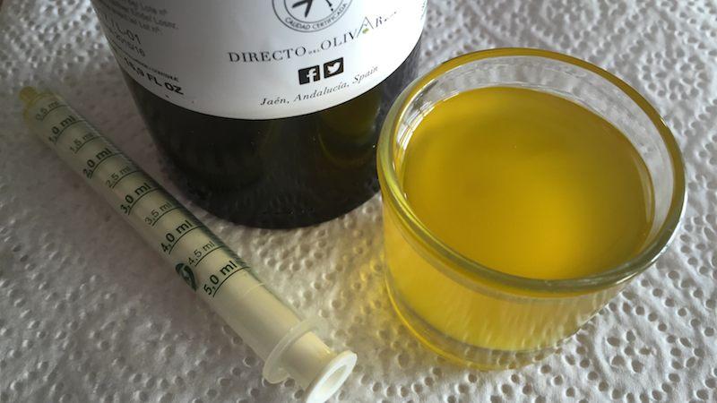 Aceite de oliva calorias