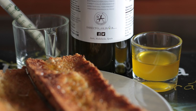 Calorias del aceite de oliva