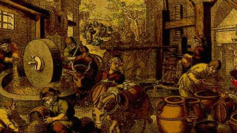 Molino de aceite antiguo