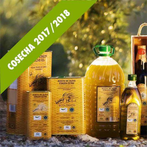 Aceite de oliva ecologico 2018