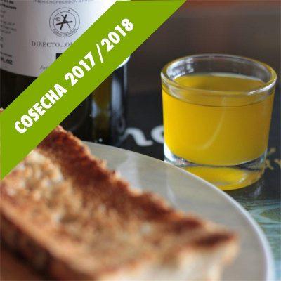 Aceite de oliva sin filtrar 2018