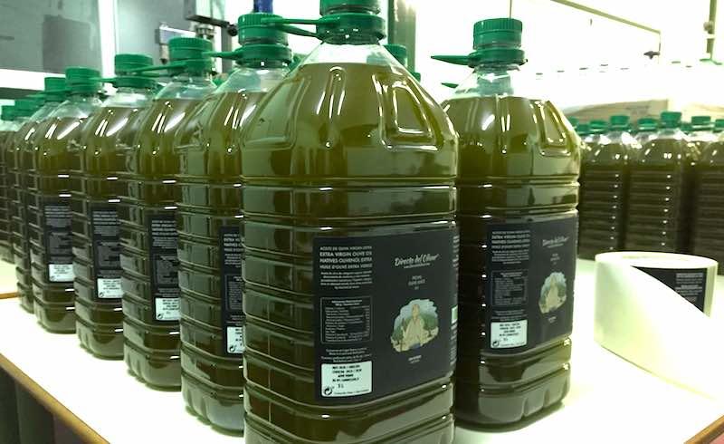 Aceite de oliva verde sin filtrar 5 litros