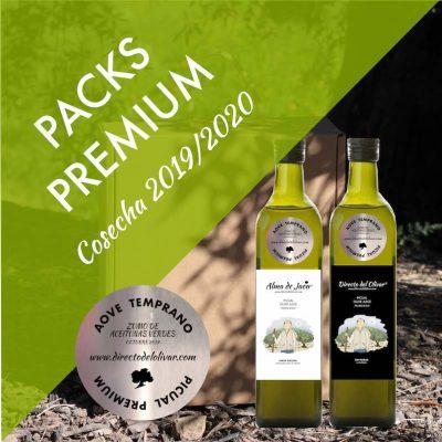 Packs AOVE premium cosecha 2019 2020