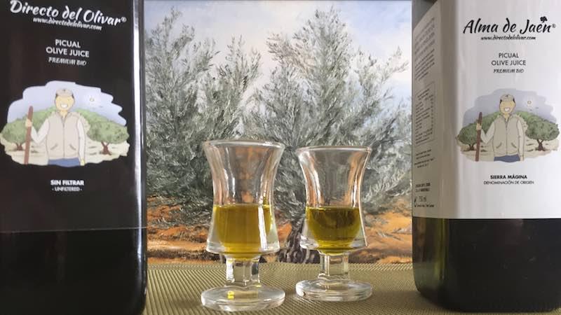 Aceite de oliva sin filtrar vs filtrado