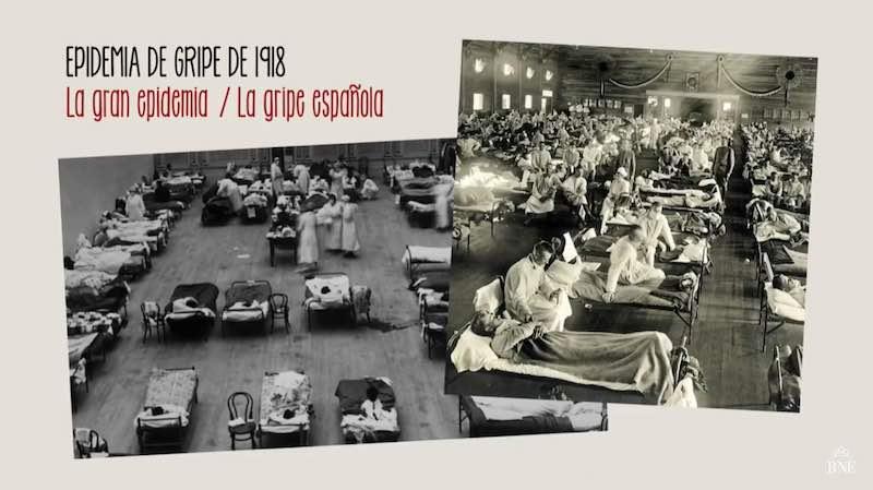 Hospitales en la Gripe 1918