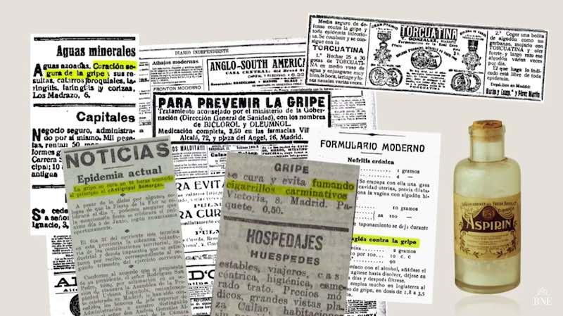 Noticias Gripe 1918