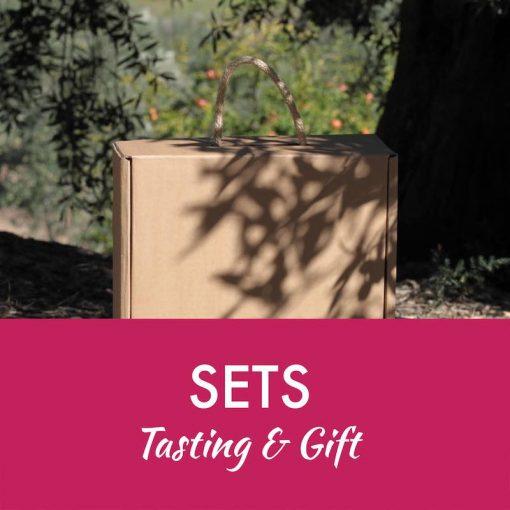 Olive oil tasting gift sets